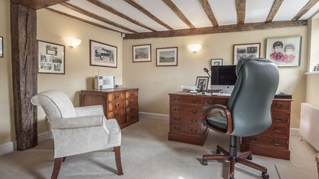 With six bedrooms and plenty of living accommodation in the centre of Woodbridge, the Old Manor Hous