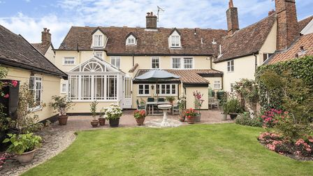 The Old Manor House, Woodbridge is spacious and full of character with ample room to combine living