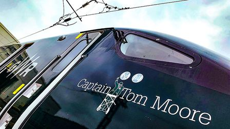 GWR named a train Tom Moore in his honour