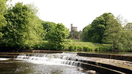 Hornby Castle and Weir