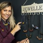 Danielle with some of her jewellery