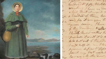 Mary Anning and the letter that is coming under the hammer at 2pm today