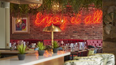 It is advisable to book a table before you arrive, though walk-ins are also welcome. Picture: Vanill