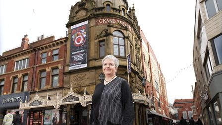 Ruth Eastwood, CEO, at Blackpool Grand Theatre