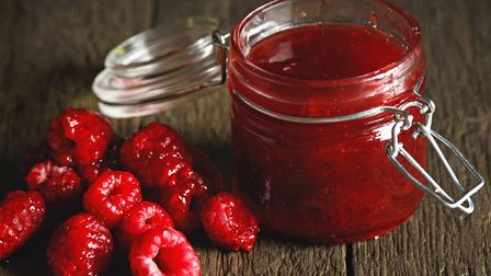 Raspberry jam is really easy to make, says Mary Kemp. Photo: Getty Images/iStockphoto