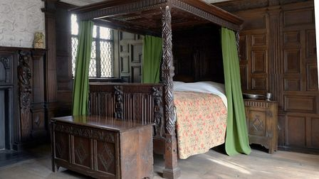 Charnock bed, Astley Hall, Museum and Art Gallery, Chorley