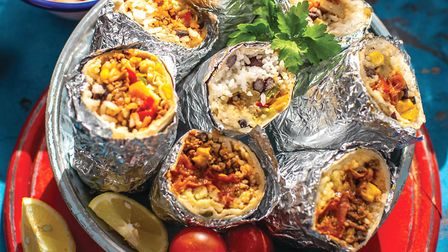Lizzie's Banging Burritos - a mighty handful of flavours Photo Lara Jane Thorpe