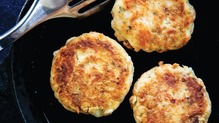 Gently fry your salmon fishcakes Photo:cpjanes/Getty Images/iStockphoto