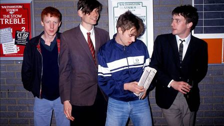 Blur in the early days