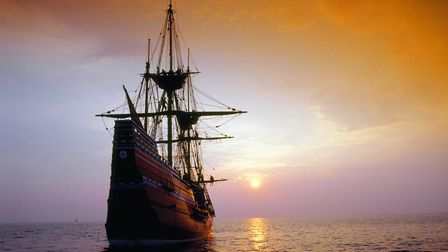 A replica of the Mayflower Picture: Mayflower 400