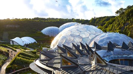 The iconic Eden Project is an action-packed day out. PICTURE: HUFTON AND CROW