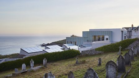 The wonderful Tate St Ives overlooks the seafront at St Ives. PICTURE: HUFTON AND CROW