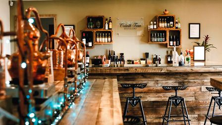 Learn how to make your own gin at the new distillery at Colwith Farm