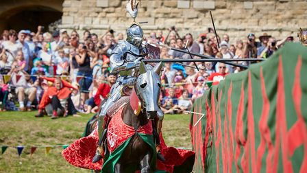 In August there are regular skirmishes and jousts at Pendennis Castle