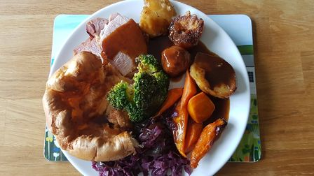 Perfect plate: the Sunday dinner from The Cartford Inn was a hit with our food editor