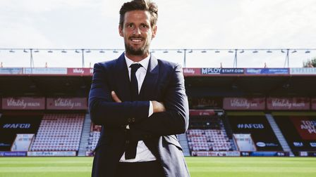Jason Tindall was appointed as the new manager of AFC Bournemouth in early August Photo: AFC Bournem