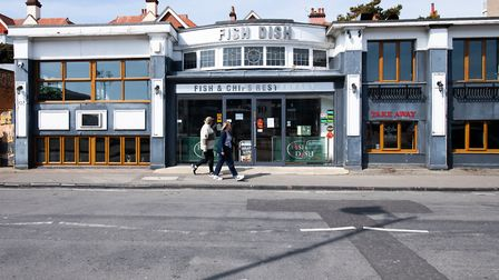 Fish Dish fish and chips is a Felixstowe favourite. Picture: SARAH LUCY BROWN