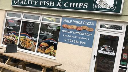 Woodbridge Quality Fish and Chips says it all. Image: Woodbridge Quality Fish & Chips