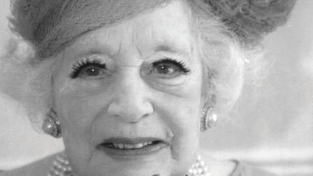 Barbara Cartland, 1995. Picture: Archant Library