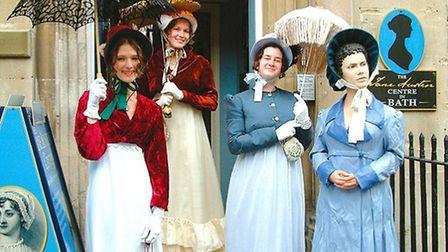 Go back to the times of the famous author at the Jane Austen Centre