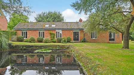 The Red House at Withersdale in the Waveney Valley has an independent two-bedroom studio in the grou
