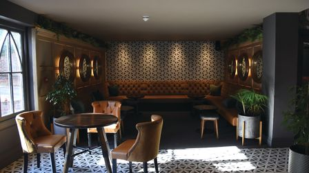 The stylish interior of the Northgate in Bury St Edmunds. Picture: CHARLOTTE BOND