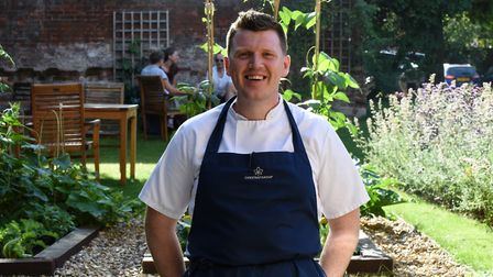 Chef Greig Young at the Northgate in Bury St Edmunds. Picture: CHARLOTTE BOND