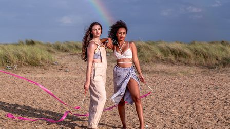 There was even a rainbow at the end of the shoot! Photo: Becky Louise Photography