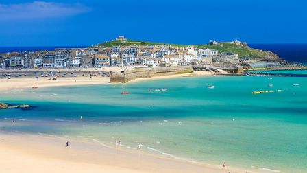Porthminster Beach St Ives. Photo credit: Ian Woolcock, Getty Images/iStockphoto