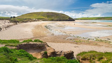 Daymer Bay located on the River Camel Estuary near Rock and Padstow. Photo credit: Ian Woolcock, Get