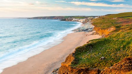 Approaching Porthleven from Loe Bar. Photo credit: Ian Woolcock, Getty Images/iStockphoto
