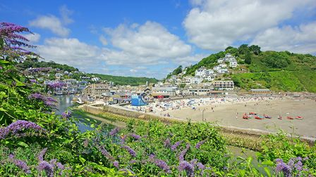 East Looe Beach. Photo credit: Peter Llewellyn, Getty Images/iStockphoto