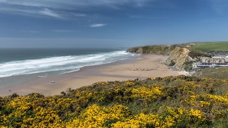 Watergate Bay. Photo credit: Mick Blackey, Getty Images/iStockphoto
