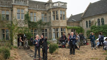 Filming Far From the Madding Crowd at Mapperton House Photo: Mapperton House & Gardens