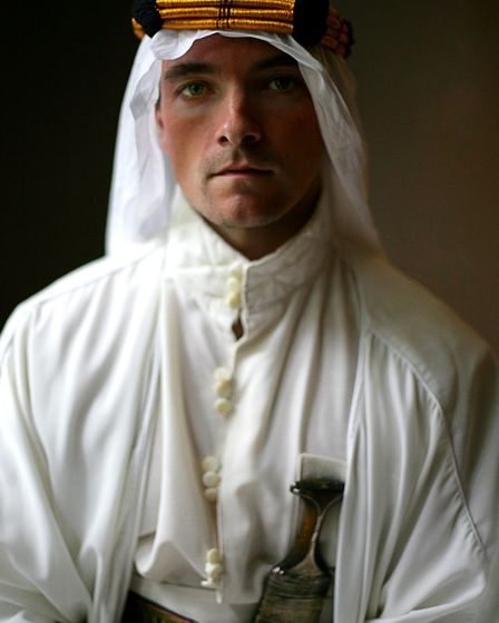 Tom Barber Duffy in the title role of T.E. Lawrence in the film Lawrence After Arabia Copyright Gryf