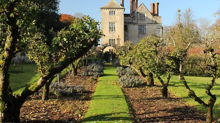Cranborne Manor House was used for some of the exteriors of Manderley Photo Edward Griffiths