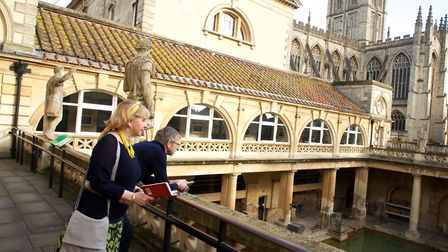 Visit the historic Roman Baths