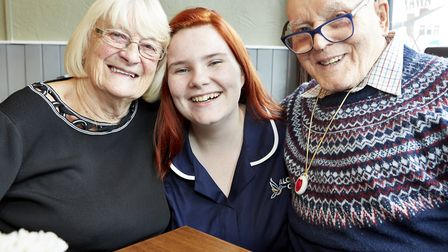 'Live-in care provides more one-to-one, personal care when compared to residential care.' Picture: A