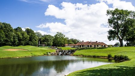 Have a round of golf against a picturesque backdrop