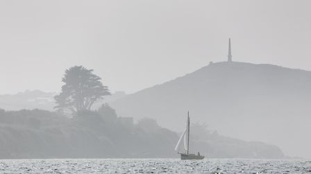 A view of Denis Hill from my kayak