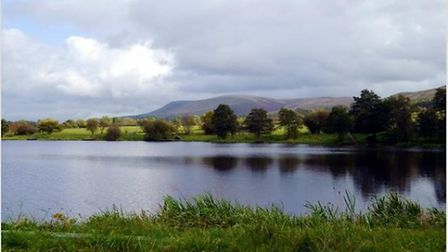 Pendle Hill from the A59 by Anthony Donlan