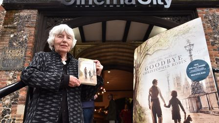 Ann Thwaite at Cinema City for a special screening of the film Goodbye Christopher Robin in 2017 Pi