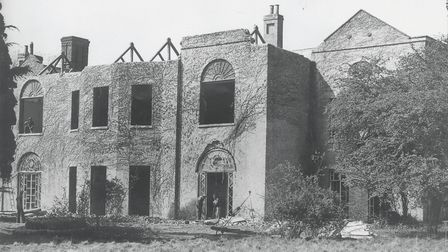 Rollesby Hall, shortly before demolition in 1950. Photo: Archant archive