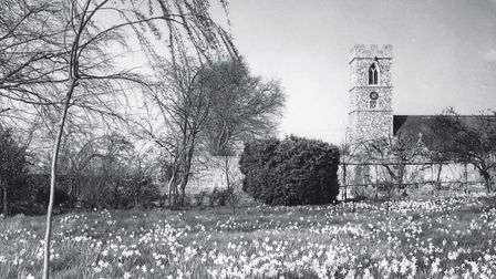 The church at Kirby Bedon, pictured in 1961. Photo: Archant archive