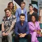 Joey Bevan is part of the You Are What You Wear squad alongside host Rylan Clark-Neal (photo: BBC)
