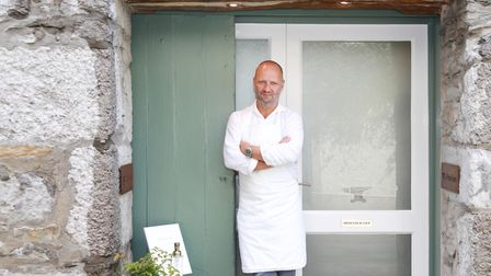 Simon Rogan of L'Enclume in Cartmel photographed by Kirsty Thompson