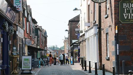 Burscough Street, Ormskirk. Photograph by Kirsty Thompson