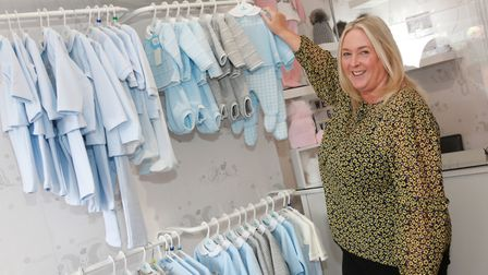 Helen Suarez of Baby Room Boutique. Photograph by Kirsty Thompson