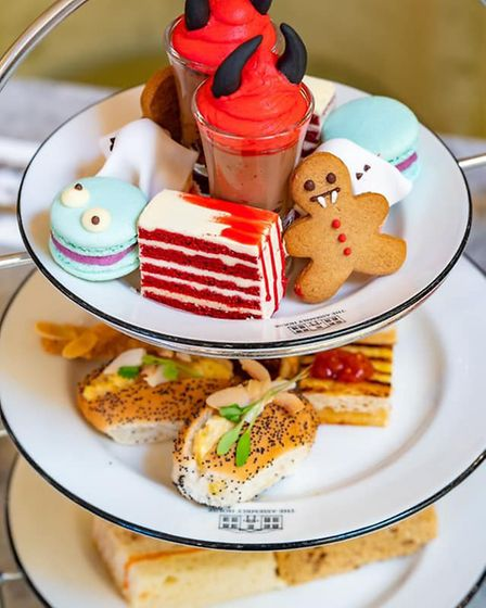 The full Assembly House of Horrors Afternoon Tea (photo: Assembly House)