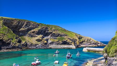 Harbour in Port Isaac, Cornwall